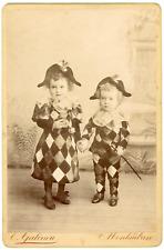 Les petits Arlequins, à Montauban Vintage silver print  Tir