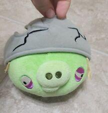 "Angry Birds Pig Plush 5"" Corporal Cracked Helmet No Sound"