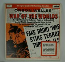 Orson Welles' War of the World's Stereo 4001 Two Record Set