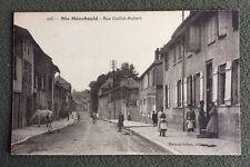 CPA. SAINTE MENEHOULD. 51 - Rue Gaillot Aubert.