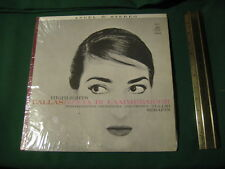 Vintage Angel Stereo Callas Lucia Di Lammermoor Highlights 35831 Iconic Cover