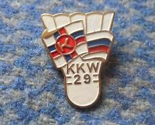 KKW 29 KRAKOW POLAND BADMINTON CLUB 1970's PIN BADGE