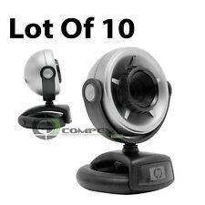 Lot of 10 HP EW192AA Web Cam Laptop Desktop WebCam Camera Tilt PC