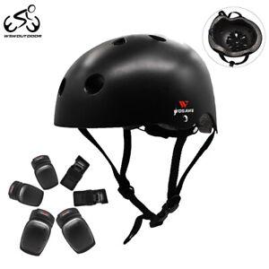 Adult Motorcycle Helmet Protective Gear Knee Pads Elbow Guard Skiing Wrist Brace
