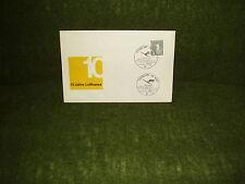Bund,Sonder-Briefumschlag mit Sonderstempel 10 Jahre Lufthansa 1965 !