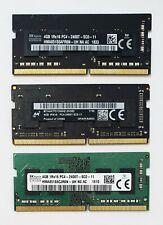 4GB DDR4 2400MHz Laptop RAM ~ PC4-19200 PC4-2400T ~ SODIMM Memory 260pin iMac 5K