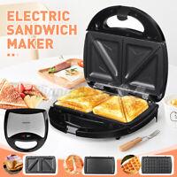 SOKANY 3 in1 Electric Waffles Maker Non-stick Pan Sandwich Cake Machine 750W
