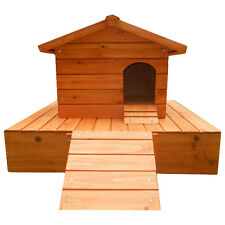 Easipet Wooden Duck House with Floating Platform (FED21263)