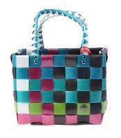 Witzgall Einkaufskorb mehrfarbig 29x22x22 cm Tasche Einkaufstasche Shopper