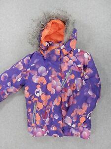 Spyder SMALL TO TALL Insulated Ski Snowboard Jacket (Kids Size 7) Purple