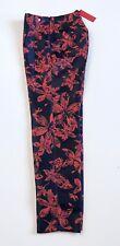 Carolina Herrera Silk Mix Formal Floral Pant.NWT Retail $480 Price $195 Size 2