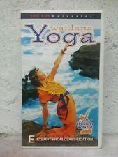 "Yoga: Beginners Workout [VHS] Wai Lana "" VIDEO CASSETTE TAPE - SYDNEY POST"