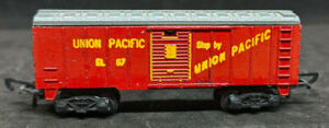 Lone Star Locos: Treble-O-Lectric BOXCAR UNION PACIFIC. OOO gauge N Die Cast VTG