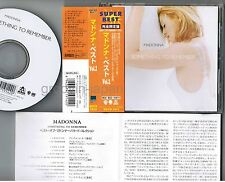 MADONNA Something To Remember+1 JAPAN CD WPCR-1914 w/OBI 1998 reissue Free S&H