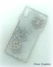 Bling Flower Phone case made with Swarovski Crystals