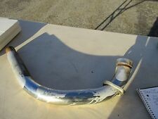 1982 Yamaha Virago 920, Chrome Front Header Pipe, Chrome Collar, 2-Mounting Nuts