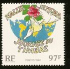 1990 WALLIS & FUTUNA JOURNEE DU TIMBRE STAMP DAY NEUFS ** MINT NEVER HINGED