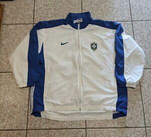 Vintage 1998 Nike Brazil World Cup Jacket Size XL