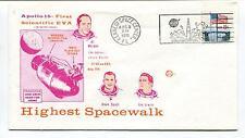 1971 Apollo 15 First Scientific EVA Highest Spacewalk Kennedy Center Space Cover