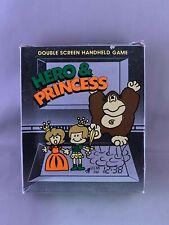 Nintendo game & watch KO Hero & Princess electronic portable handheld game mib