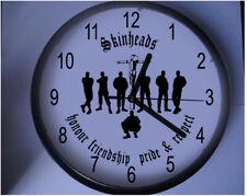More details for bespoke skinhead wall clock oi sham 69 docs doctor martens boots