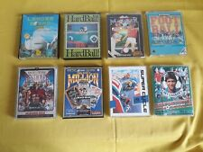 Lotto x8 Cassette DOUBLE CASE Retro Game Videogiochi Vintage COMMODORE 64 C64