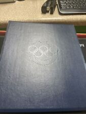 New listing Official History of The Olympic Games Solid Bronze Coin Proof Set Franklin Mint
