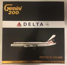 GeminiJets Delta Air Lines Convair CV-880 - G2DAL507 - 1/200