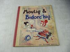 Ancien livre Moutig & Bidorc'hig, Rozenn / Darmor, Edition Brittia, 1946