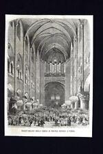 Grand'organo della Chiesa di Nostra Signora a Parigi Incisione del 1868