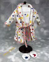 American Girl Doll of Today 2000 Stars and Stripes Sleep Set w Robe Slippers