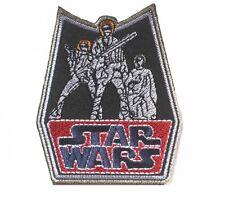 STAR WARS Retro Han/Luke/Leia Patch Badge 7.5x9 cm