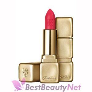 Guerlain KissKiss Matte Velvet Lip Colour M332 Electric Ruby 0.12oz / 3.5g