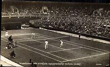 Wimbledon. The World's Championship Tennis Court # 52168 by Photochrom.