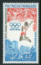 French Polynesia 1975 Olympics Airmail Scott C120 MNH V45