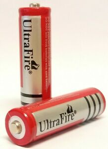 Ultrafire 18650 4800mAh 3.7v BUTTON TOP Lithium Li-Ion 2 Pack