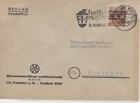 German Postal History Stamps Cover Ref: R4655