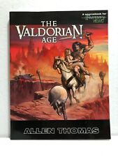 THE VALDORIAN AGE: A Sourcebook for Fantasy Hero RPG by Allen Thomas (2005) NEW!