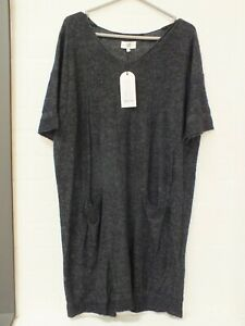 Noa Noa Navy Jumper Dress Tunic Size Medium New With Tags (Sel)