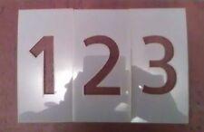 6 inch Allerta Number Set Stencil 0-9 & dash symbol
