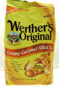 Werther's Original Creamy Caramel Filled Candies ~ 30oz Bag