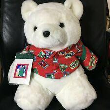 VTG Dayton Hudson 1993 Santa Bear Pristine Condition Tags Attached