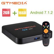 GTMEDIA G3 TV BOX Android 7.1.2 Amlogic Quad Core 5.0GHz WIFI 4K Netflix TV CAJA
