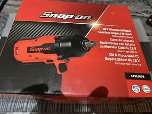 3/4 Snap On 18v Monster Lithium Cordless Impact Wrench (tool Only)