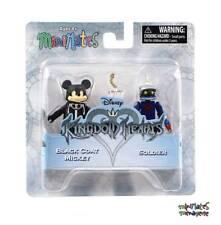 Kingdom Hearts Minimates Series 2 Black Coat (Organization 13) Mickey & Soldier