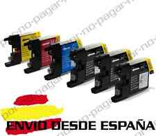 6 CARTUCHOS COMPATIBLES NonOem BROTHER LC1240 LC1280 MFC-J6510DW MFCJ6510DW