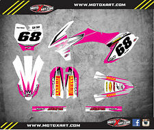 Custom graphics for KTM 50 2016 - 2018 SHOCKWAVE PINK STYLE full sticker kit
