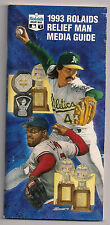 """1993, 1996, 1997 BASEBALL -""""Rolaids Relief Man Guide"""" Nice Collectible"""