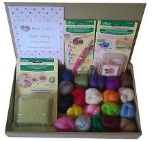 Clover herramientas Aguja fieltrar Kit D-pequeña Alfombra, Estilo Lápiz herramienta, el moho, lana, aguja