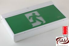 Emergency Exit Sign Light LED Ceiling Wall Mount Running Man Double  Sided
